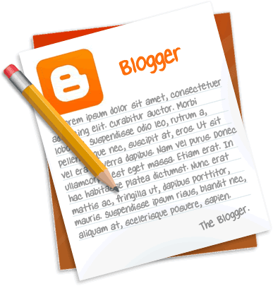 """Удаляем надпись """"Технологии Blogger"""""""