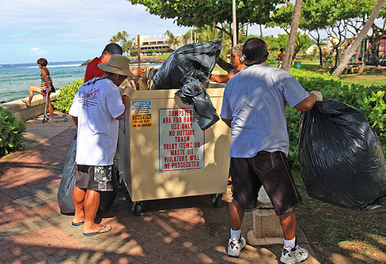 kewalo basin park cleanup, friends of kewalo basin association