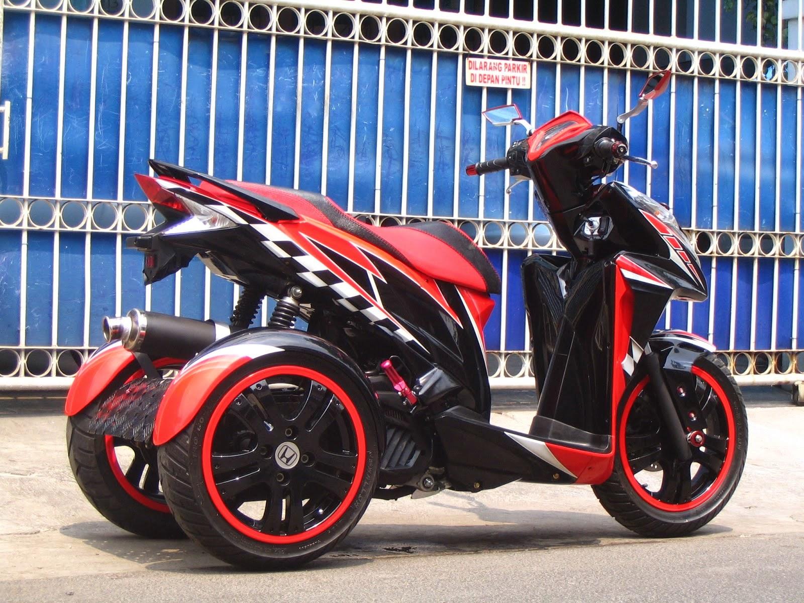 Modifikasi Vario Cw Ban Besar Thecitycyclist