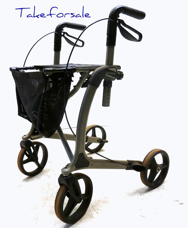 alu leichtgewichts rollator meyra gentleman tfs546 ebay. Black Bedroom Furniture Sets. Home Design Ideas