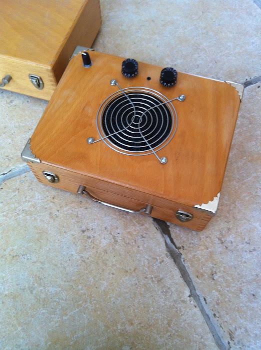 Un ampli en fabrication Ampli15