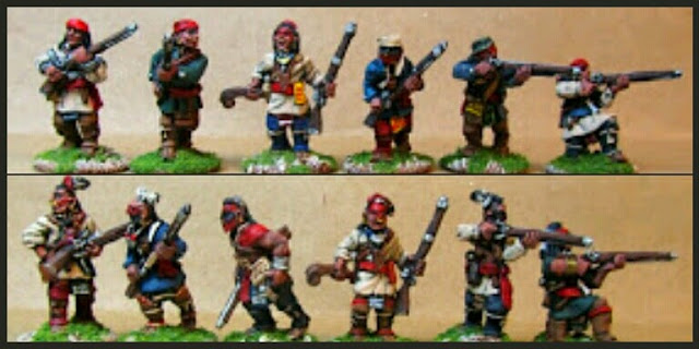 Indians Knuckleduster Miniatures