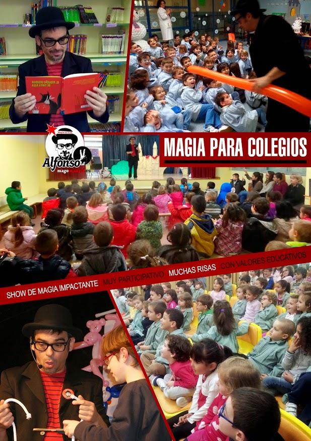 magia para colegios mago madrid