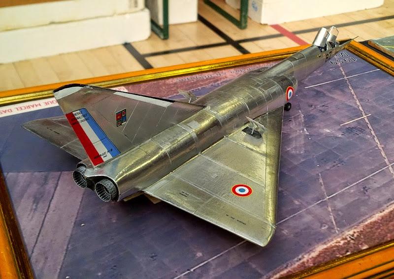 GAMD Mirage IV B. Un gros mirage IV, en scratch et au 72 Xpopdr12
