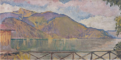 Koloman Moser - The Abersee, 1913