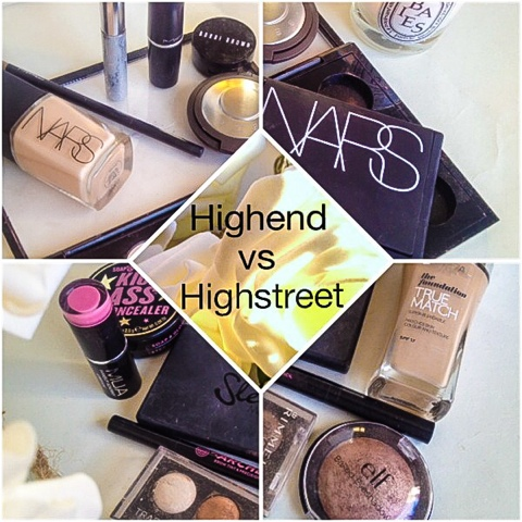 High-end vs High-street
