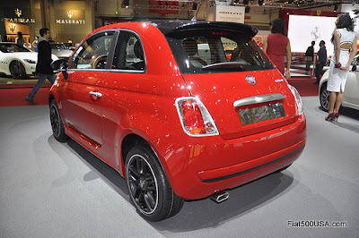 Fiat 500 byAbarth rear