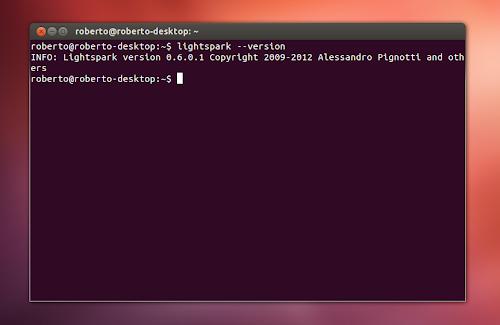 Lightspark su Ubuntu