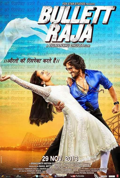 Poster Of Hindi Movie Bullett Raja (2013) Free Download Full New Hindi Movie Watch Online At Alldownloads4u.Com