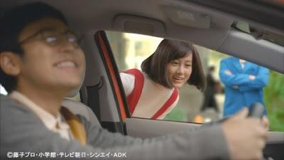 トヨタ「実写版ドラえもんCM」新キャラクターのジャイ子に前田敦子 ( ∵ )→(ю:}