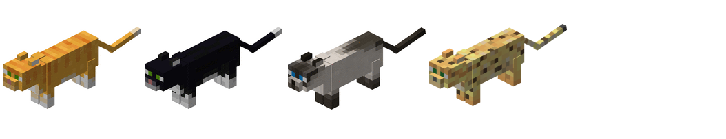Ocelots Minecraft Minecraft ocelots and cats