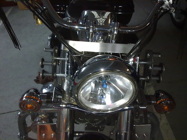 Colocación de Fairing (Batwing) en la moto Fairing%252004