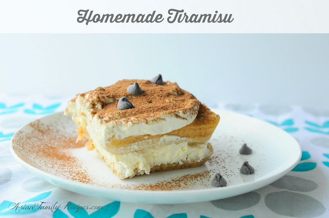 Homemade Tiramisu Recipe