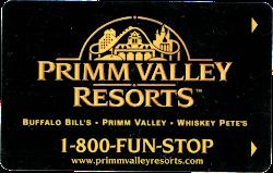 Primm Valley Resort keycard