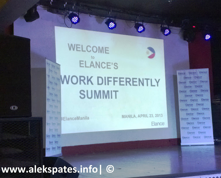 Work Differently at Elance, Elance Europe, Elance Philippines, Elance's Work Summit 2013, Work Summit for Freelancers, Freelancing Work Summit, Elance 2013, Elance Philippines 2013