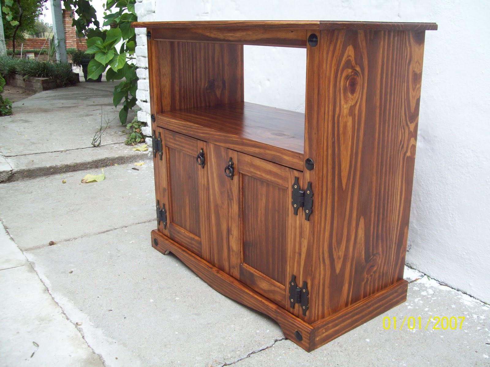 Muebles rusticos hierro y madera 20170726091456 for Muebles rusticos