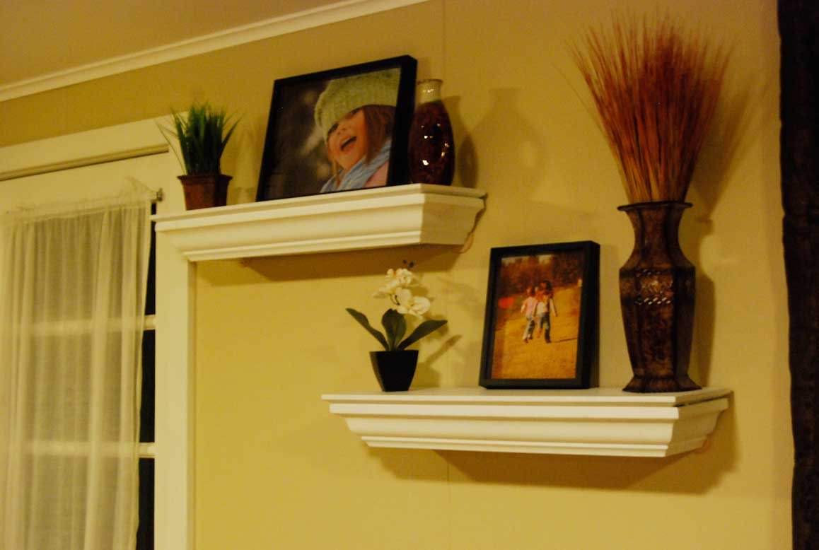 Diy Crown Molding Shelves - DIY Ideas