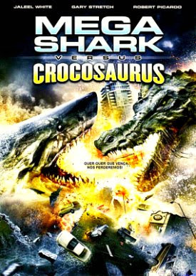 Filme Poster Mega Shark vs Crocosaurus DVDRip XviD Dual Audio & RMVB Dublado