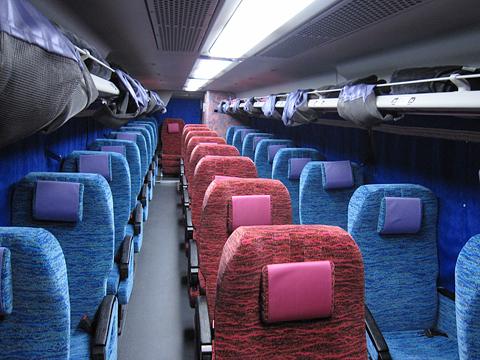 北海道バス「釧路特急ニュースター号」・993 車内