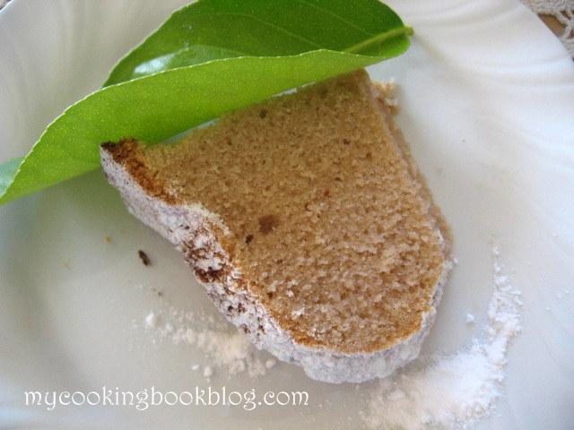 Кекс с крем (мармалад) от кестени