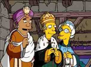 reyes magos simpson