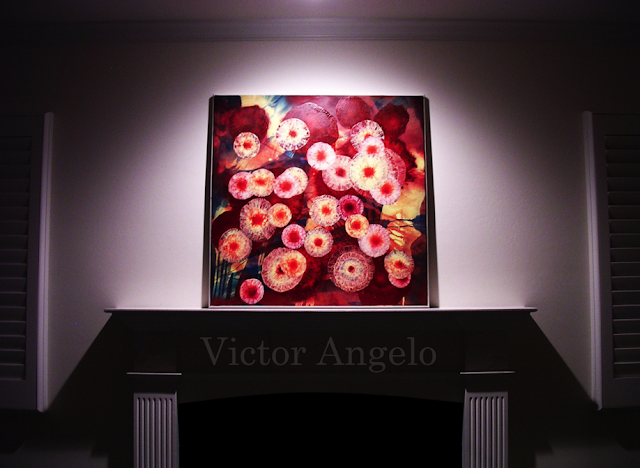 Victor Angelo Art Collection Residence Inception Mantle