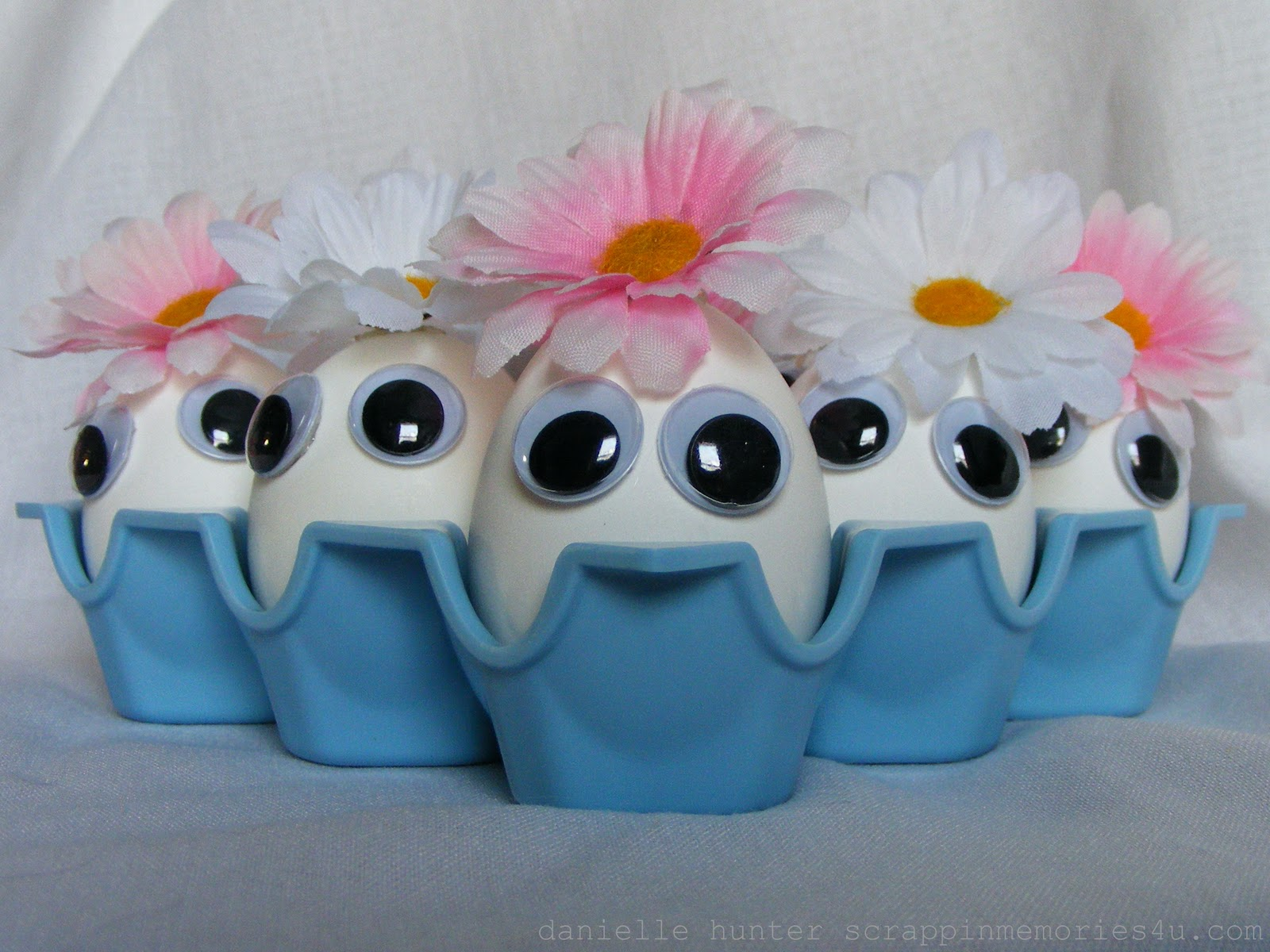 Snap scrap blog tweet decorating easter eggs with googly eyes for Craft masks to decorate
