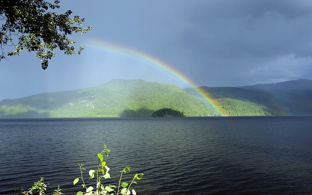 Rainbow after the rain.jpg (OLYMPUS IMAGING CORP.  /E-330           , 1/160, f/7.1, 14mm, ISO-125, no flash)