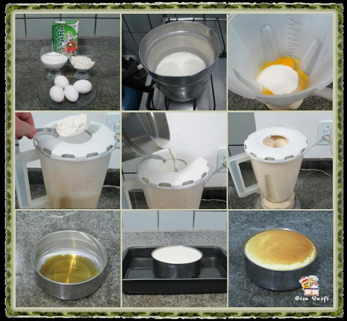 Pudim de padaria simples 5