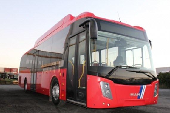 Nuevos autobuses híbridos y de gas que recorrerán la zona sur