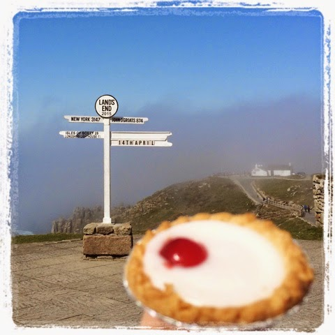 Land's End is #betterwithcake Cherry Bakewell