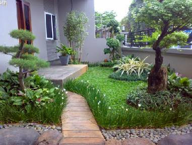taman rumah minimalis design rumah minimalis