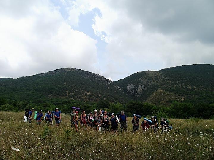 Отчет о горном походе 1-й категории по Крыму