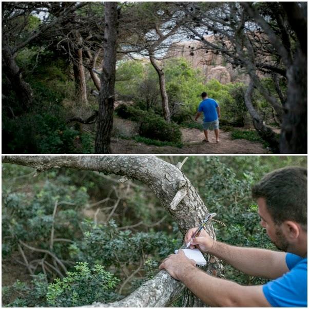 Un fotógrafo realiza Geocaching para buscar lugares que fotografiar.