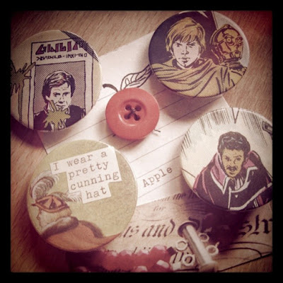 Pin badges by Meridian Ariel