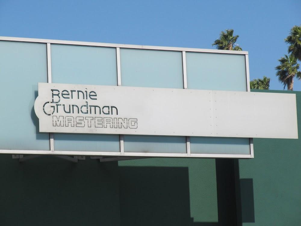 Bernie Grundman mastering studio