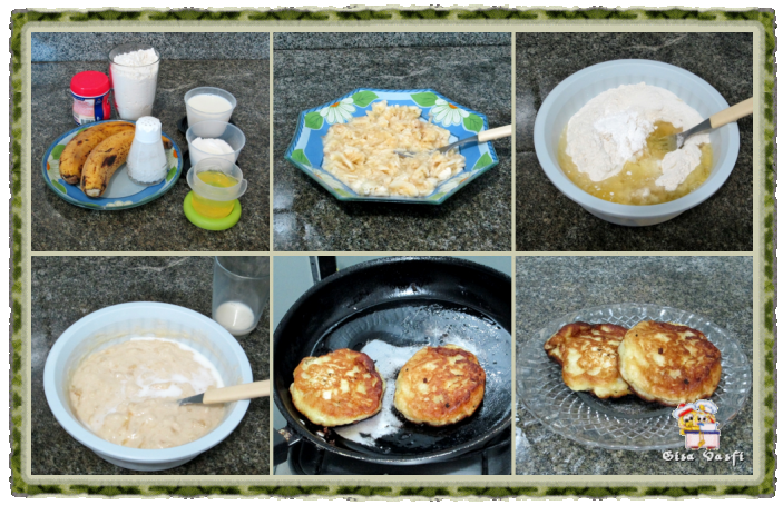 Panquequinhas doces - blinis 3