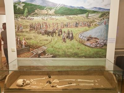 Keltische Bestattung
