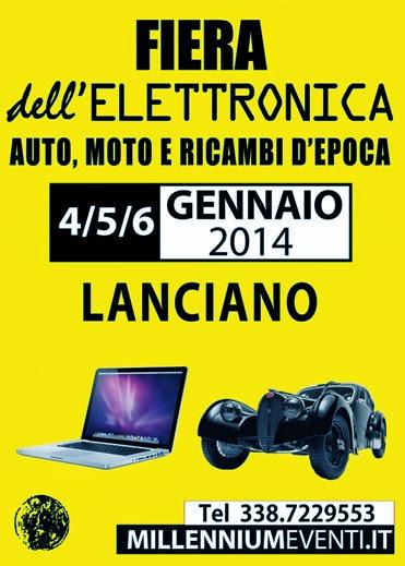 """MillenniumAdria"", 4a Fiera dell'elettronica a Lanciano (CH) dal 4 al 6 gennaio"