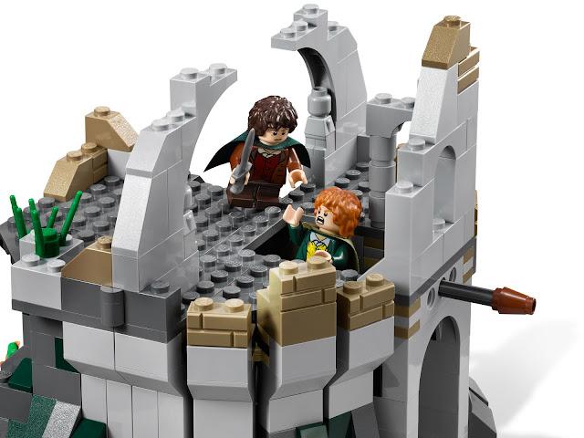 レゴ ロード・オブ・ザ・リング ウェザートップへの攻撃 9472