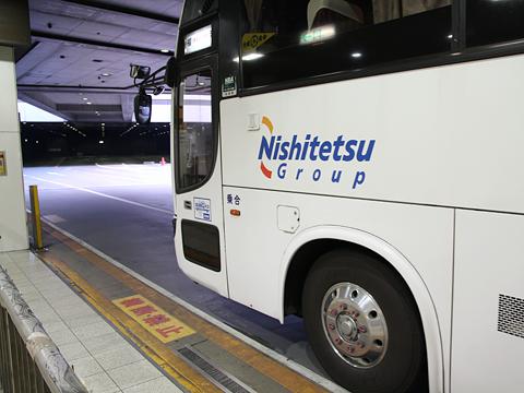 西鉄高速バス「桜島号」夜行便 3802 西鉄天神BC到着 その3