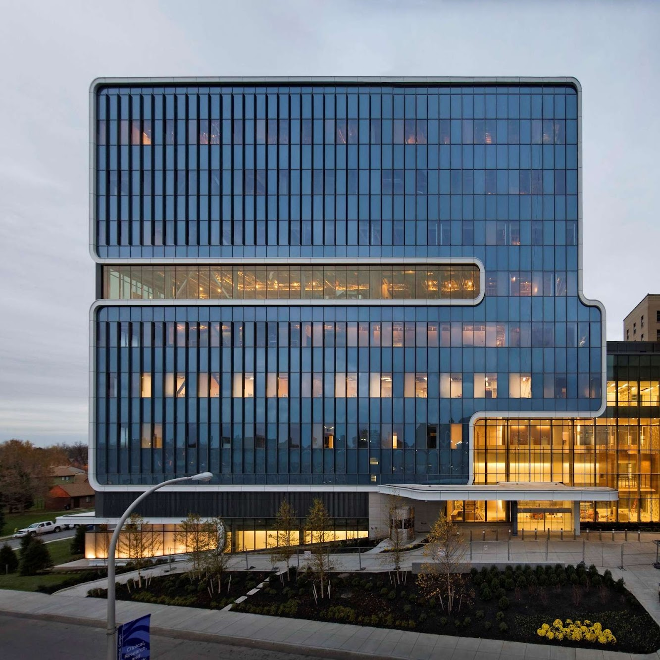 Buffalo, New York, Stati Uniti: Kaleida Global Vascular Institute by Cannon Design