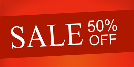 50% Off SALE! Sort by: Newest Items Featured Items Bestselling Alphabetical: A to Z Alphabetical: Z to A Avg. Customer Review Price: Low to High Price: High to Low Everything in this category is 50% off (or more) until we run out of stock.