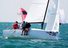 J/70 Brian Keane- Savasana sailing Bacardi Miami sailing week