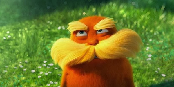 Screen Shot Of Hollywood Movie The Lorax (2012) In Hindi English Full Movie Free Download And Watch Online at Alldownloads4u.Com