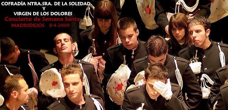 Concierto Banda de Cofradía Ntra.Sra.Soledad y Virgen de los Dolores - álbum de 73 fotos + 9 videos