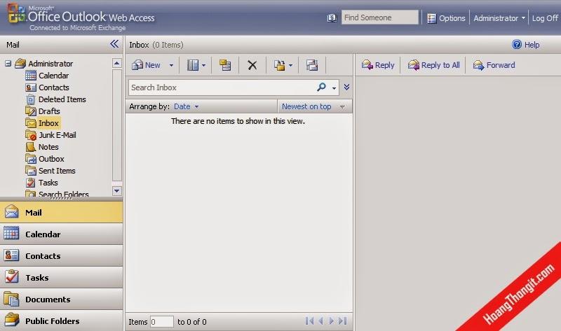 Danh sách tất cả các email của người dùng
