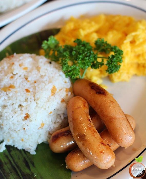 IHOP Filipino Breakfast: Lean Chicken Sausage | www.thepeachkitchen.com