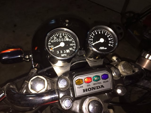 Gil's Cafe Racer/Brat Honda CB360 Build