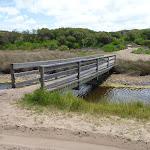 Timber bridge over Pinney's Creek in the Wallarah Pennisula (388193)